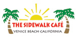 The Sidewalk Cafe. Located on the Venice Boardwalk at Venice Beach, the Sidewalk Cafe is an ideal location to eat, drink and people watch 1401 Ocean Front Walk. Venice, CA 90291. (310) 399-5547. www.thesidewalkcafe.com