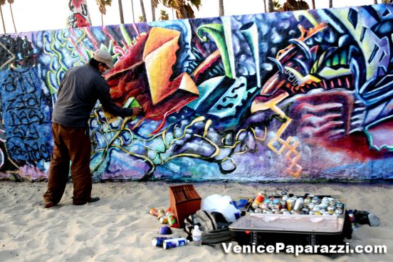 Visit Or Paint At The Venice Art Walls Also Known As The Venice