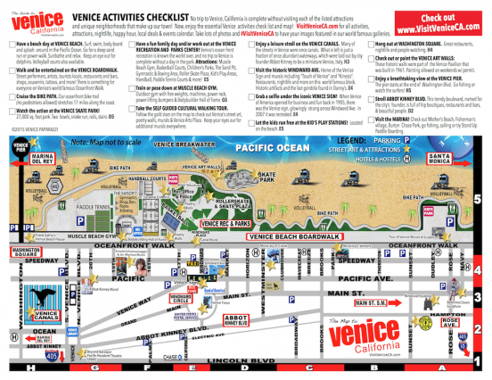 image regarding Printable Map of Venice identify Investigate Venice with the functions test record map