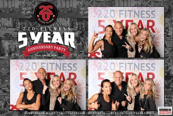 220 Fitness 5 Year Anniversary. Instagram @220fitsm | Facebook: 220Fitness | www.220Fitness.com Photo by www.VenicePaparazzi.com