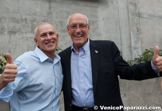 Bill Rosendahl with Mike Bonin