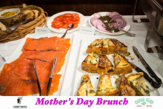 Mother's Day Brunch at James' Beach
