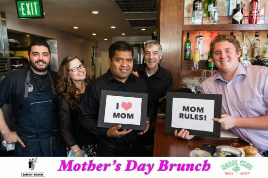 Mother's Day Brunch at Canal Club. www.CanalClubVenice.com.