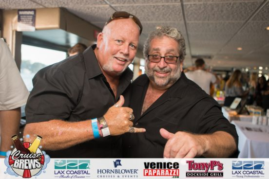 Right: Cruise N' Brews Event organizer and Tony P's Dockside Grill's Tony Palermo