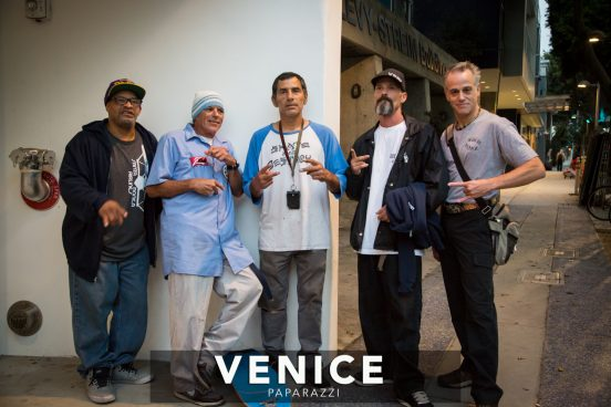 Victor Blue, Jesse Martinez, Tim Jackson and Made in Venice Producer/Director Jonathan Penson