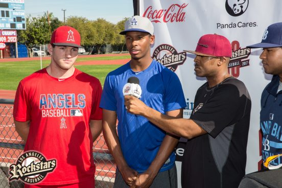 01.08.17 Los Angeles Rockstars Baseball Club's Community Baseball Fest. www.rockstarbaseball.com Photo by Venice Paparazzi