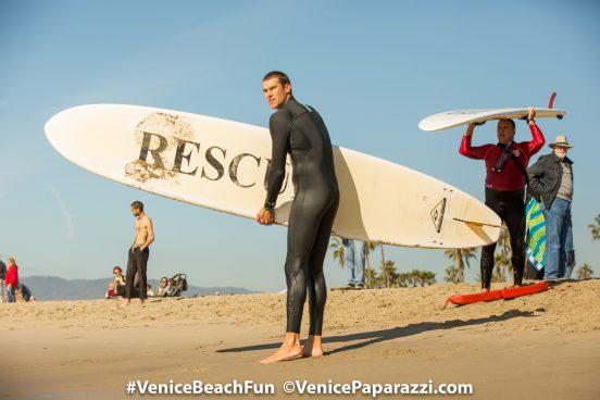 Venice Penguin Swim 2017.  Photo by www.VenicePaparazzi.com