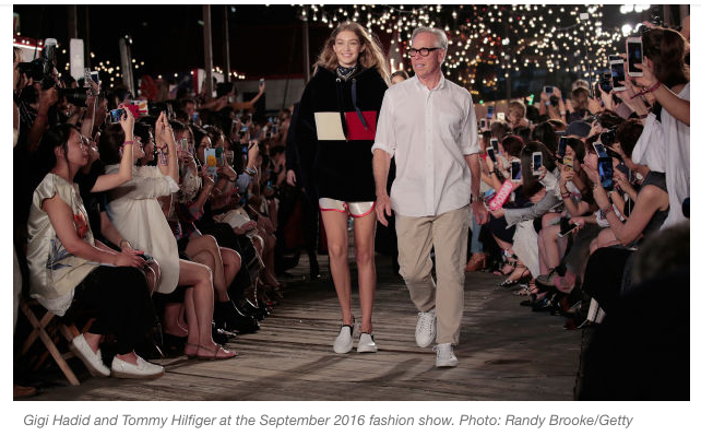 well known huge discount arriving Tommy Hilfiger to host Spring/Summer Runway Show in Venice ...