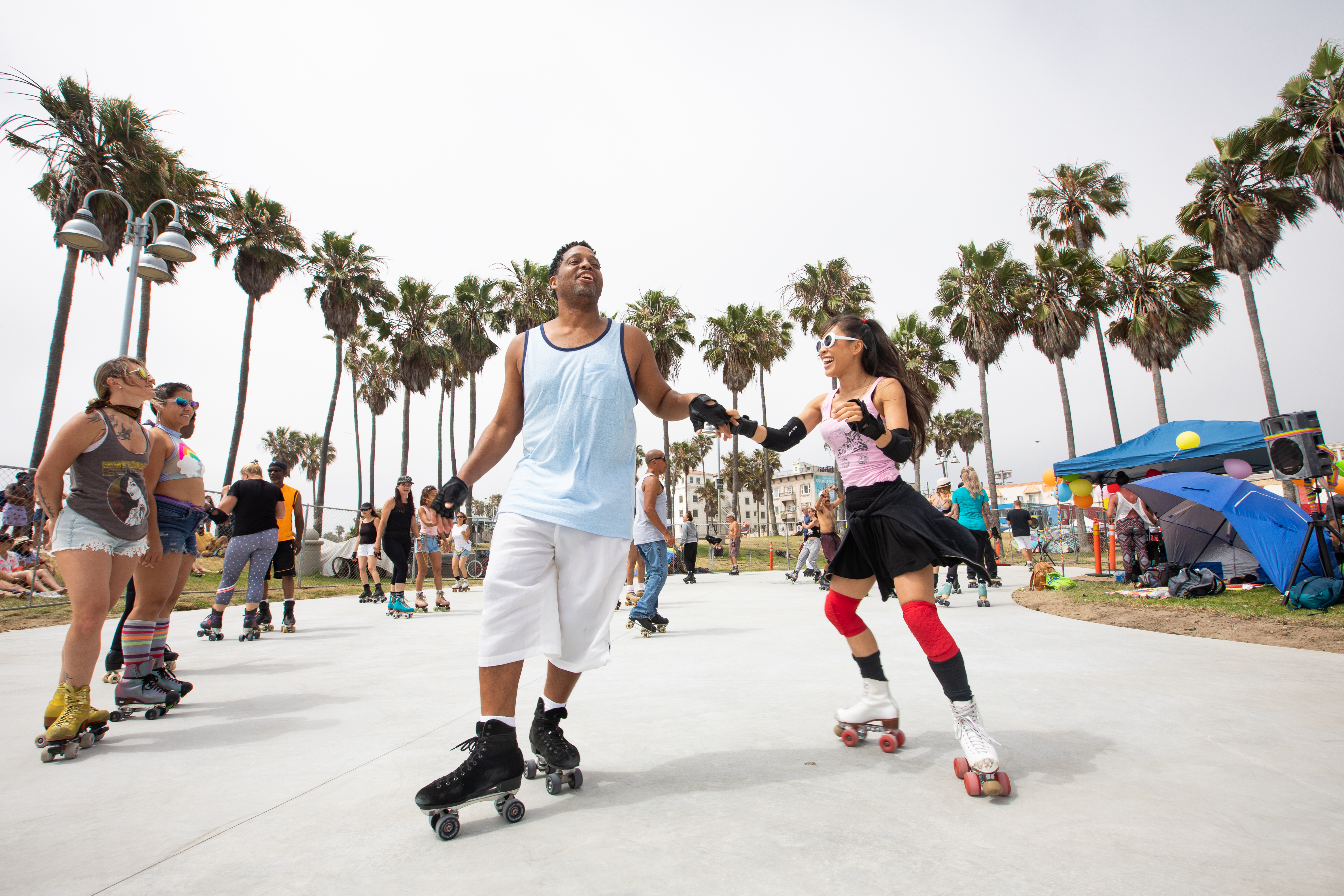 Image result for venice beach roller skaters
